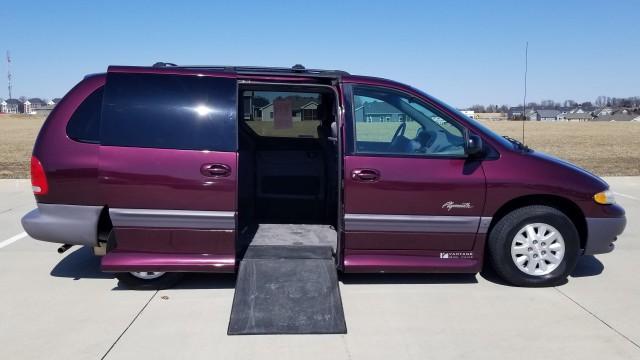 1999 Plymouth Grand Voyager  Wheelchair Van For Sale